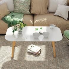 Bàn Trà chữ nhật ngồi bệt hoặc ngồi cao với ghế sofa, chân gỗ tự nhiên chắc chắn và sơn pu, rất dễ dàng lắp đặt