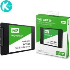 Ổ cứng SSD Western Digital Green 240GB 2.5″ SATA 3 – WDS240G2G0A – Hàng Chính Hãng