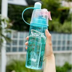 Bình nước phun sương thể thao thế hệ mới 600ml New.B an toàn cho sức khỏe – Bình nước phun sương thể thao – Bình nước phun sương – Bình nước.