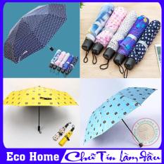 Ô dù đi mưa gấp gọn nhiều màu, Ô dù nhỏ gọn, Ô dù đi mưa che nắng mini xếp gọn – Đổi trả trong vòng 07 ngày tại Eco Home