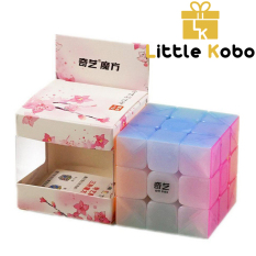 Rubik 3×3 QiYi Jelly Thạch Anh Rubik 3 Tầng Warrior W