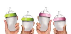 Bình sữa Comotomo silicon chính hãng – Mô phỏng giống ti mẹ