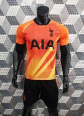 Bộ quần áo bóng đá TOTTENHAM màu cam đồ đá banh mới 2019 2020