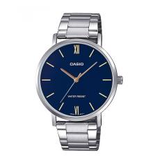 Đồng hồ nam Casio MTP-VT01D-2BUDF Dây kim loại nam tính