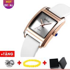 Đồng Hồ Nữ Mặt Vuông Sành Điệu Chống Nước Cao Cấp SKMEI BW058-Boss Watches