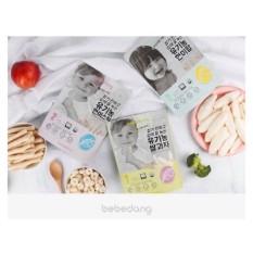 Bánh gạo lứt ăn dặm hữu cơ Bebedang Hàn Quốc cho bé từ 6 tháng