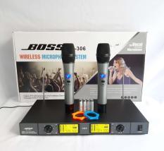 Micro không dây BOSS ML306.(loại 1)