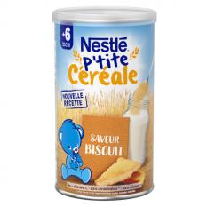 Bột Lắc Sữa Nestle Pháp 400g Tăng Cân Vị Biscutié Cho Bé Từ 6 Tháng