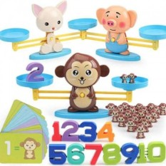 Bộ trò chơi cân bằng hình thú, Đồ chơi bàn cân toán học Puppy Up cho bé, Đồ chơi bàn cân toán học Puppy Up cho bé, Đồ Chơi Giúp Bé Năng Động, đồ chơi,