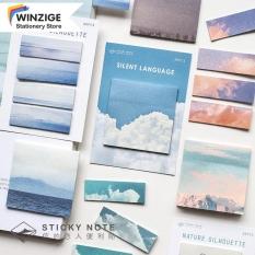 Winzige Giấy ghi chú với họa tiết thiên nhiên đẹp có kích thước 85*120mm dùng trong trường học văn phòng giá tốt (30 tờ) – INTL