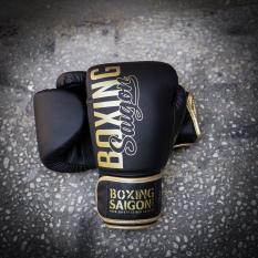 Găng tay Boxing Saigon Inspire – Black/Gold