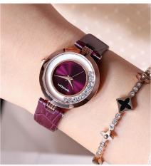 Đồng hồ nữ SANDA NAGIN Nhật Bản – Dây da mềm cao cấp