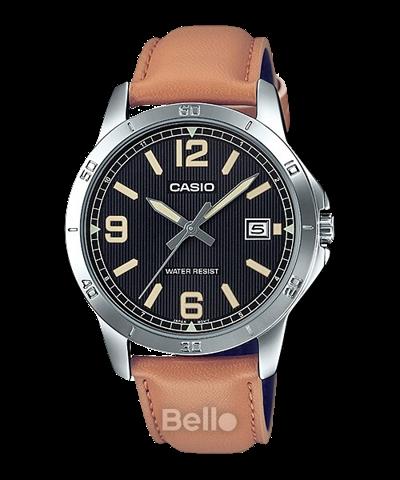Đồng hồ Casio Nam MTP-V004L-1B2UDF chính hãng giá rẻ – Bảo hành 1 năm – Pin trọn đời