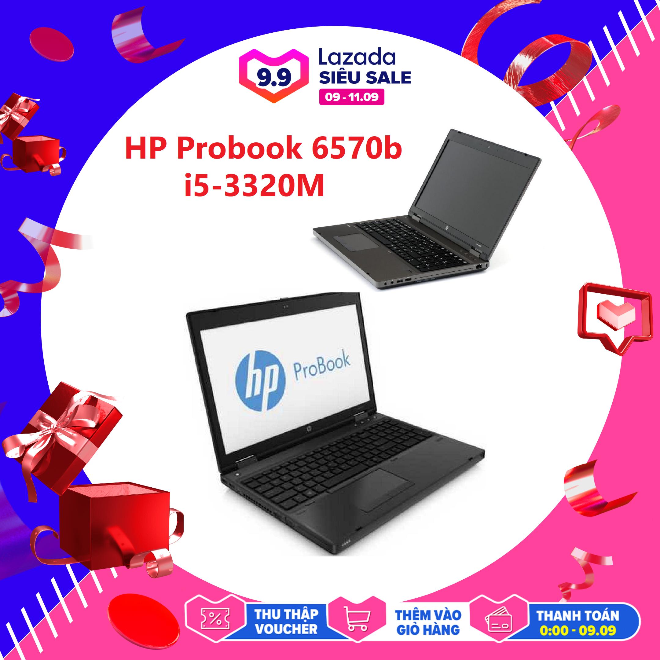 Laptop Văn Phòng, Laptop Chơi Game + Đồ Họa Giá Rẻ HP 6570b, i5-3210M, VGA Intel HD 4000, Màn 15.6HD, LaptopLC298