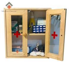 Tủ thuốc cửa mica – tủ thuốc y tế cần thiết cho gia đình tiện lợi (Tủ 2 cánh cửa)
