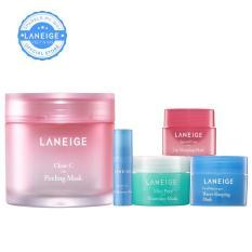 Combo Top 5 mặt nạ dưỡng da ngày hè Laneige Mask Collection