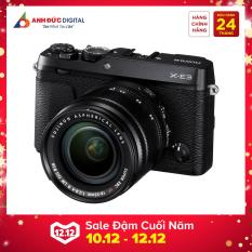 Máy ảnh Fujifilm X-E3 + 18-55mm – Hãng phân phối chính thức + Thẻ nhớ 32Gb + Túi máy ảnh + dán màn hình