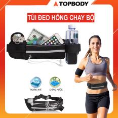Túi đeo chạy bộ chống nước, túi chạy bộ đeo hông, đai đeo chạy bộ đựng điện thoại TOPBODY – TUICB01