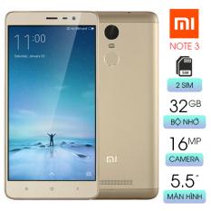 Điện thoại màn hình rộng cấu hình mạnh chơi game mượt Xiaomi Redmi Note 3