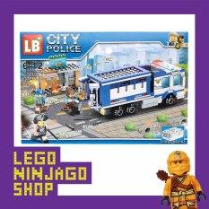 Bộ lắp ráp xếp hình Lego City Police 576: Xe cảnh sát áp giải tội phạm