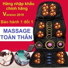 Nệm (Đệm) massage toàn thân – Ghế Mát Xa Đa Năng Toàn Thân giảm stress, lưu thông khí huyết, giảm đau nhức toàn cơ thể