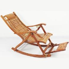 Ghế xích đu bằng gỗ tre