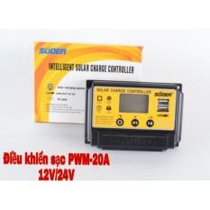 Điều khiển sạc năng lượng mặt trời PWM 20A 12V/24V – ST-S1220
