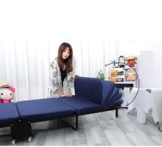 Giường gấp nâng đầu kiểu Hàn Quốc Nikita có thể chuyển đổi thành sofa 75cm (GB75)