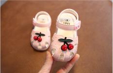 Giày búp bê bé gái. Giày đẹp cho bé gái mới biết đi. Giày sandal cho bé 12-36 tháng. Giày hoa anh đào cho bé. My little boss