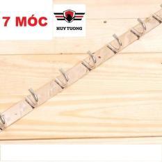 Móc treo quần áo gắn tường từ 7 đến 10 mấu inox ( Không gỉ sét ) – Huy Tưởng