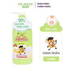 Dầu Gội Purité Baby Hạnh Nhân Natural Shampoo Almond Oil 250ml