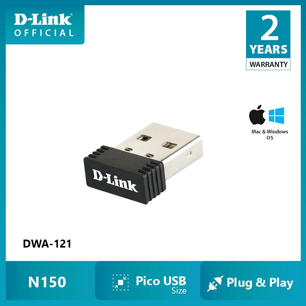 USB Thu Sóng wifi D-LINK DWA-121 – Hàng chính hãng