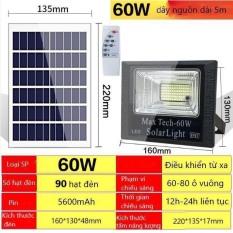 ĐÈN NĂNG LƯỢNG MẶT TRỜI 60W – 45W MAX TECH SOLAR LIGHT – ĐIỀU KHIỂN TỪ XA – PIN SẠC TRỌN DỜI – D1081