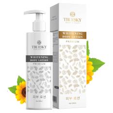 Kem dưỡng trắng da toàn thân Truesky Premium dạng lotion thẩm thấu nhanh 200ml – Whitening Body Lotion