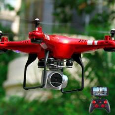[Bộ 02 Pin+ Có camera] Máy bay flycam KY101 máy ảnh camera 2.0Mpa. HD 720P truyền trực tiếp về điện thoại, Có chế độ tự về bằng 1 nút bấm trên tay điều khiển. Máy bay chụp ảnh, Flycam giá rẻ
