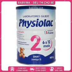 [LẺ GIÁ SỈ] Sữa Physiolac Số 2 900g Chính Hãng, Mẫu Mới, Date Mới, Giá Rẻ Vô Địch Babivina physiolac 2