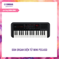 Đàn organ điện tử Yamaha PSS-A50 – Bàn phím mini – 42 Tiếng nhạc -138 loại Arpeggio khác nhau – Giắc cắm loa và tai nghe tích hợp – Có thể dùng cho sáng tác – Bảo hành chính hãng 12 tháng