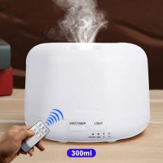 [Có Remote] Máy khuếch tán tinh dầu hình trụ 500ml và 300ml nhựa ABS JULYHOUSE – máy phun sương tạo ẩm xông tinh dầu làm thơm không gian sống