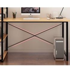 Tâm House Bàn làm việc, bàn văn phòng, bàn liền kệ đa năng (100x48cm) – B62