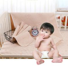 Tấm lót chống thấm 4 lớp cao cấp ORGANIC mềm mại, thoáng khí cho bé 100% COTTON HỮU CƠ TỰ NHIÊN
