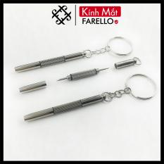 Móc vít chìa khóa sửa gọng kính Farello