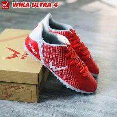 Giầy bóng đá phủi Wika Ultra 4 đế TF ( giầy đá bóng đá banh WIKA sân cỏ nhân tạo ) – Đã khâu toàn bộ đế