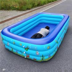Bể bơi phao có hộp hình chữ nhật tại nhà ngoài trời loại to nhiều Size ( 1m2, 1m3, 1m5, 1m8, 2m1 chi tiết khách xem trong mô tả sản phẩm ah) – ĐỒ GIA DỤNG ĐA LĨNH VỰC – ĐỒ GIA DỤNG SỈ LẺ