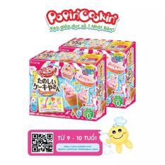 Kẹo sáng tạo Popin Cookin Tanoshii Cake Ya San – Bộ làm kem