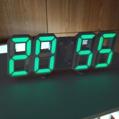 Đồng hồ Điện Tử 3D Để Bàn kèm PIN và CAB – Đồng hồ Treo Tường Cao Cấp – Báo Thức & Đo Nhiệt Độ – DH92