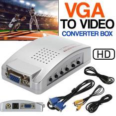 Bộ Chuyển Đổi Tín Hiệu VGA Sang AV + SVideo