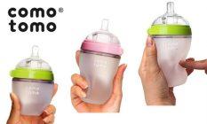 Bình sữa siêu mềm dẻo Comotomo 250ml chính hãng