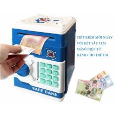 Két Sắt Mini Đựng Tiền Thông Minh cho bé