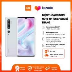 BẢO HÀNH CHÍNH HÃNG 18 THÁNG | Điện thoại Xiaomi Mi Note 10 6GB/128GB – Bộ 5 Camera 108MP RAM 6G Pin 5260 mAH Sạc nhanh 30W Màn hình cong 3D AMOLED 6.47 – Bảo hành chính hãng