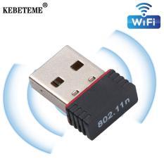 USB Thu Wifi KEBETEME, Card Mạng Lan 150Mbps, Đầu Chuyển Đổi Mạng Ethernet 802.11n-B-G 150Mbps, Dùng Cho Máy Tính PC, Máy Tính Xách Tay, Máy Tính Để Bàn ( Thanh Thủy Story )